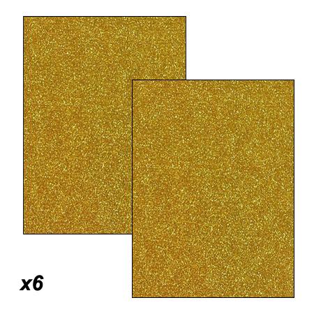 1bf364c436e GOMA EVA GLITTER DORADA 6 PLIEGOS ART CRAFT CODIGO  ARC-2188028 ...