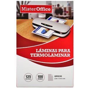 Láminas para termolaminar Mister Office