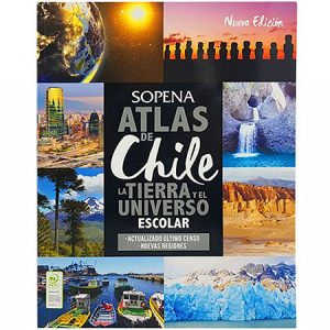 Atlas de Chile Editorial Sopena
